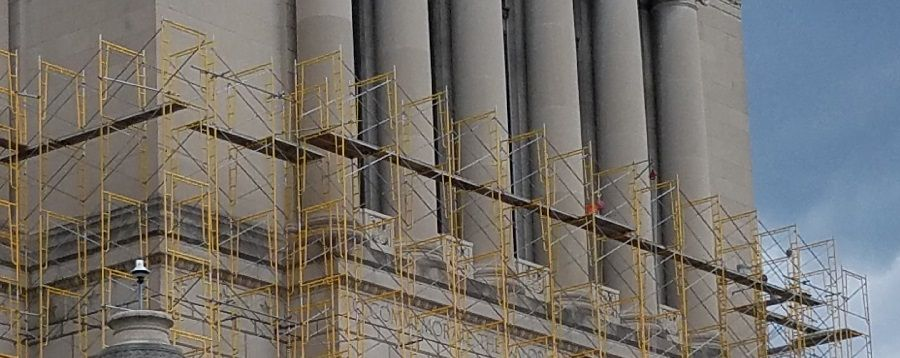 Safety Tip: Scaffolding from Bottom to Top