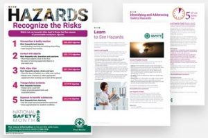 National Safety Month materials