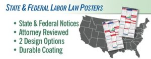 State and Federal Labor Law Posters