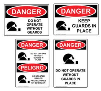 OSHA sign variety