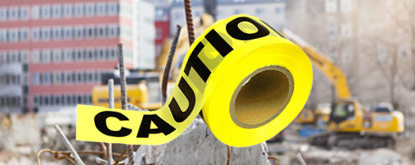Barricade Tape, Tags and Signs