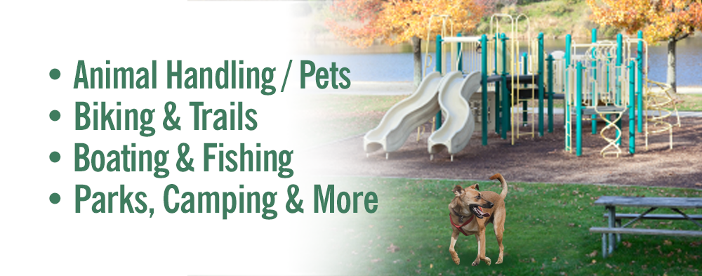 Park, Recreation and Pet Signs & Labels