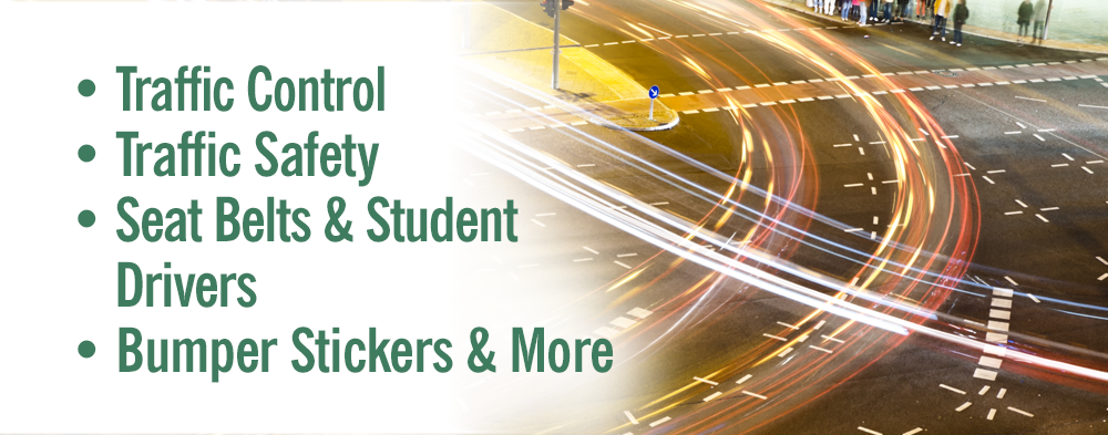 Transportation Safety and Traffic Control Signs & Labels