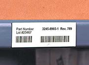 shelf label magnets