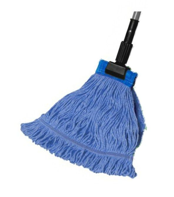 Large Wide Band Premium Color Coded Wet Mop 6 pk