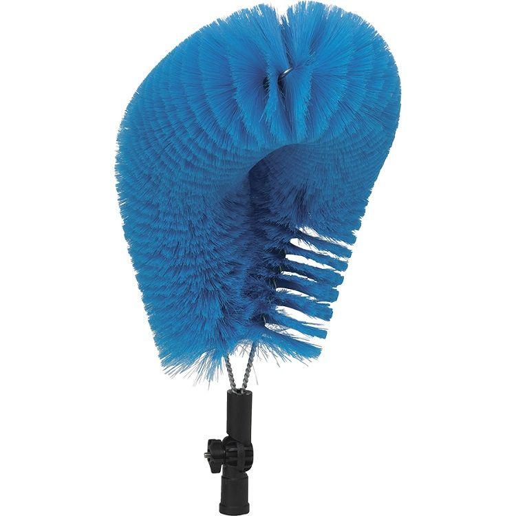 CIP Overhead Pipe Blue Brush Head Medium - EURO
