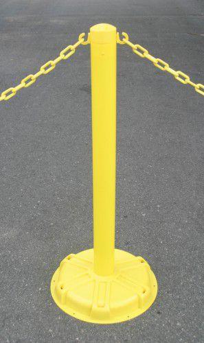 38 inch Blockade Stanchion Post 10BB38-YW