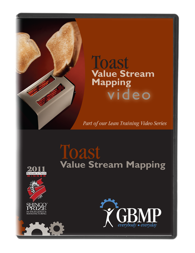 Toast Value Stream Mapping DVD