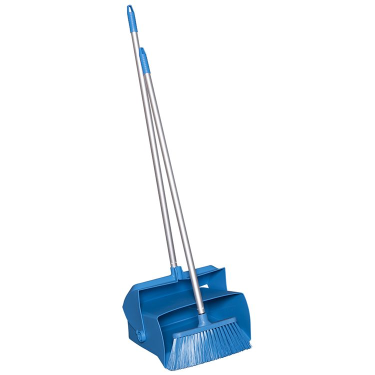15 in. Lobby Dustpan and Broom Set