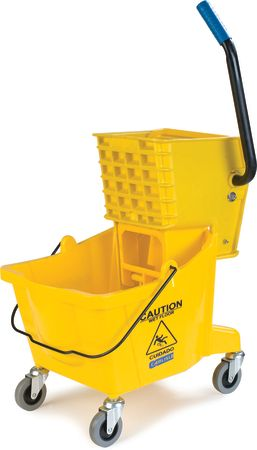 26 QT Mop Bucket with Side Press Wringer