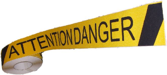 3 inch ATTENTION DANGER Anti Skid Tape