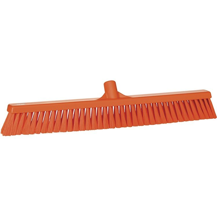 24 in. Small Particle Push Broom Head Soft - EURO