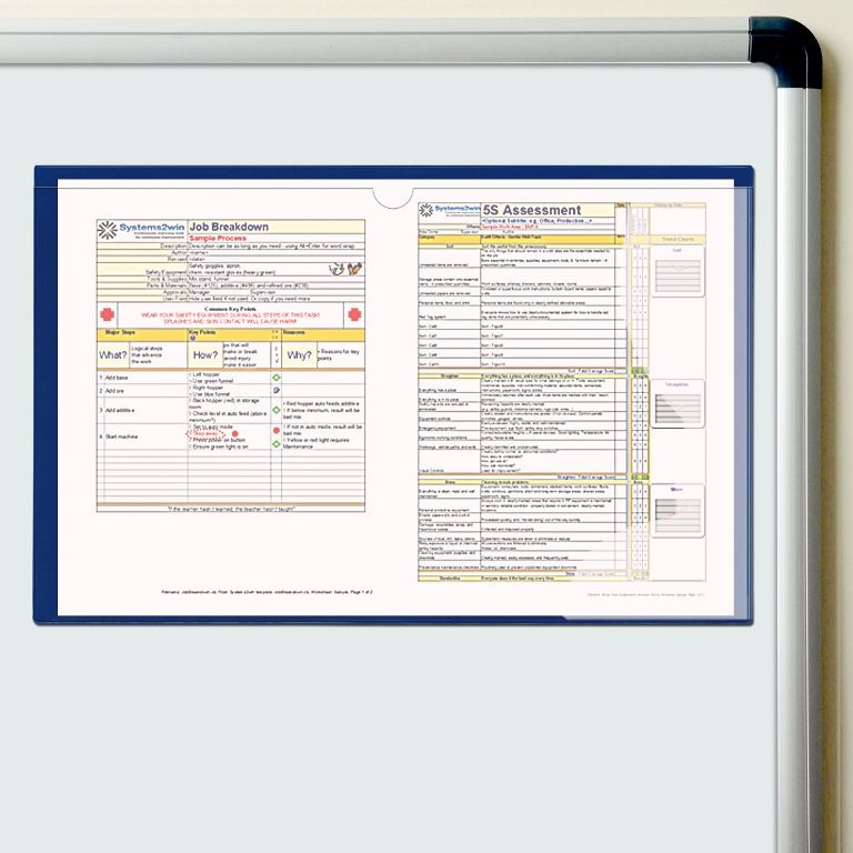 11 in. x 17 in. Magnetic Document Holder