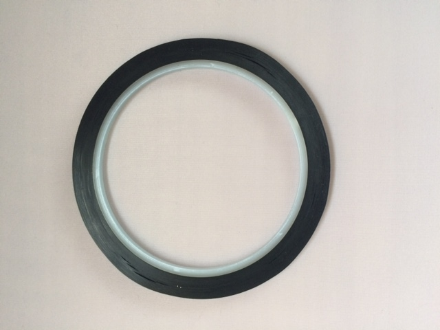 BLACK 1/16 in. x 54' Whiteboard Tape