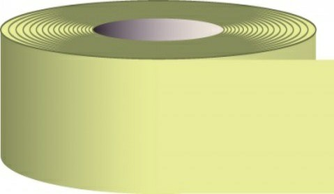 3 in. x 15' Glow-in-the-Dark Solid Tape