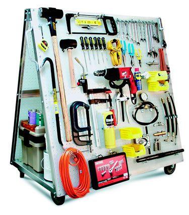 DuraBoard 51-1/2 in. H Mobile Tool Cart