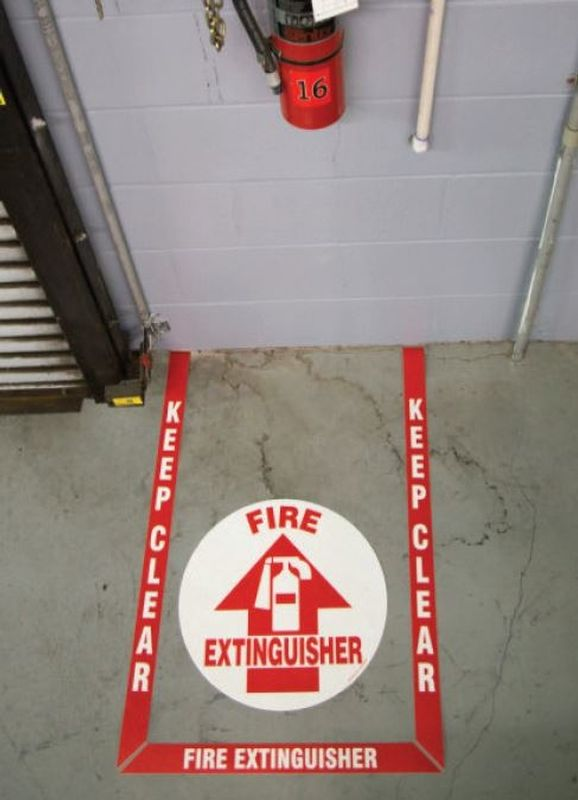 Pre-Cut 4 Pc Floor Sign Kit