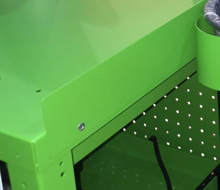 EcoCart 19 inch Shelf Lip 3 pk