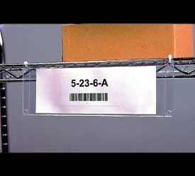 4 in. x 6 in. Grommet Style Card Holders 25 pk 50HG4X6