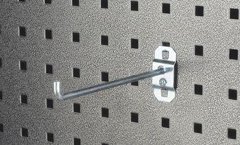 LocHook 2 in. Single Rod 90 Deg Bend 5 pk