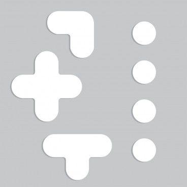 Pallet Alignment Marker Mix Stencil