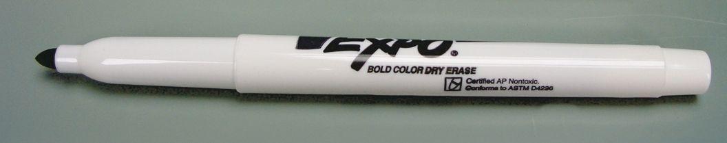 Fine Point Dry Erase Marker