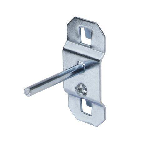 LocHook 1-1/2 in. Single Rod 0 Deg Bend 5 pk