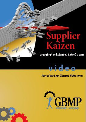 Supplier Kaizen - Engaging the Extended Value Stream DVD