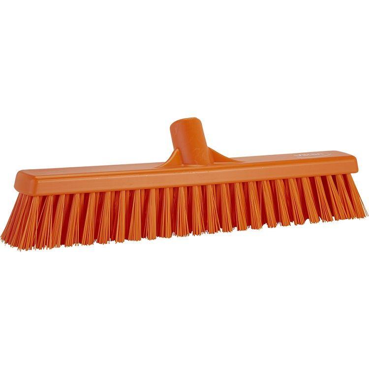16 in Combo Push Broom Head Soft/Stiff - EURO