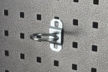 LocHook 1/2 in. ID Single Ring Tool Holder 5 pk
