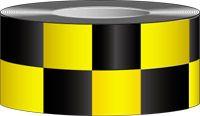 2 inch Checkerboard Vinyl Floor Marking Tape