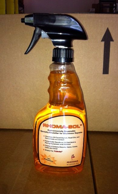 Adhesive Remover Rhoma-Sol, 16 oz Spray Bottle
