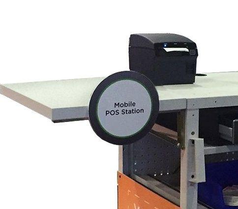 EcoCart Fold-Out Shelf Table 21MEB430