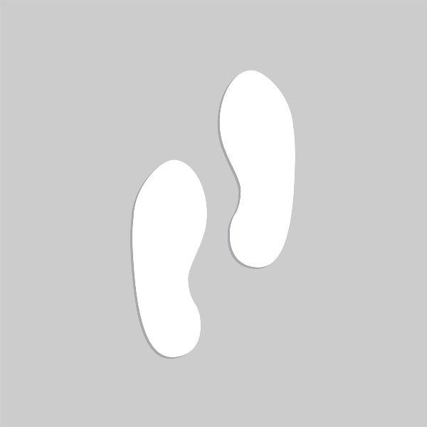 11 inch Footprint Marker Stencil