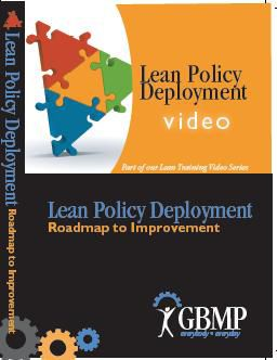 Lean Policy Deployment DVD: Roadmap to Improvement 70V1019