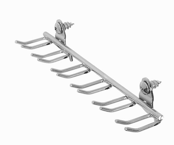 DuraHook 8-1/8 in. Multi-Prong Tool/Wrench Holder 5 pk