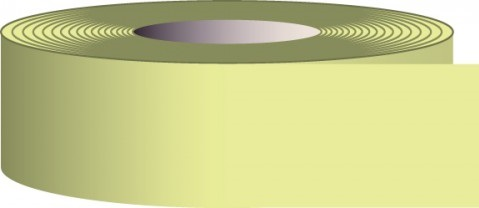 2 in. x 30' Glow-in-the-Dark Solid Tape
