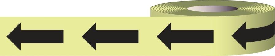 2 inch Glow-in-the-Dark Arrow Tape