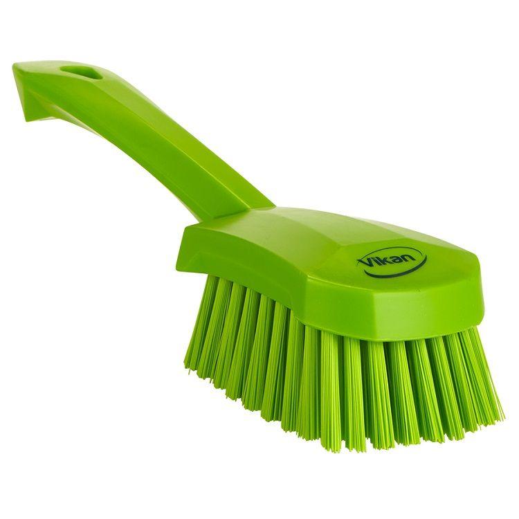 10 in. Short Handled Scrubbing Brush Stiff