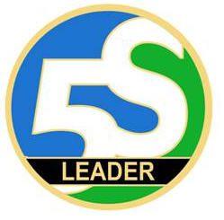 5S Leader Magnetic Pin 1.5 in. Dia