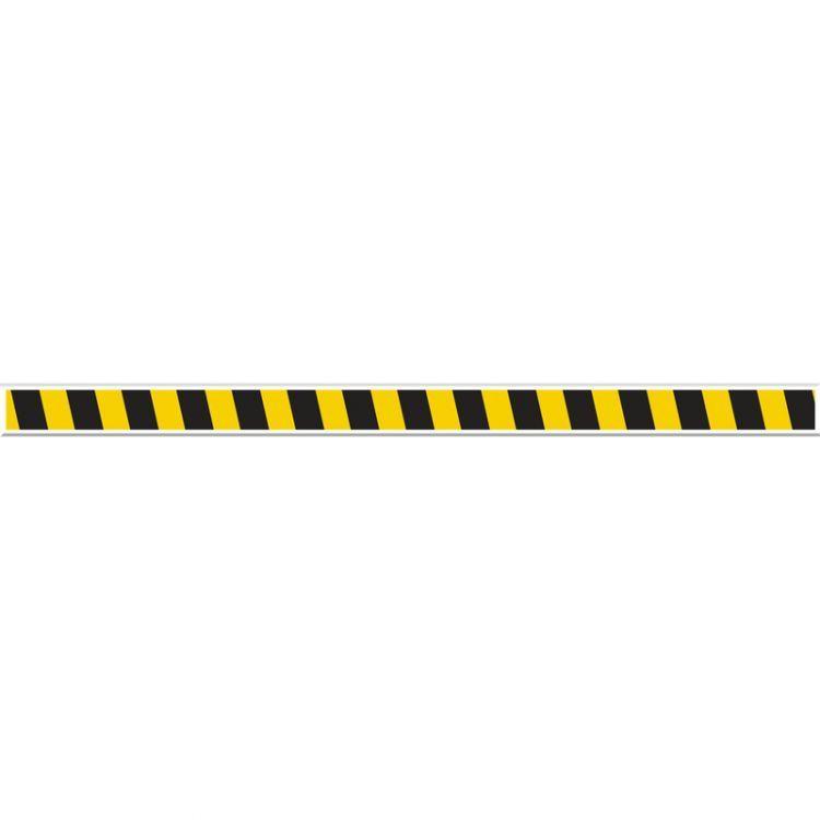 2 in. x 48 in. Tough-Mark Heavy Duty Floor Marking Striped Strips