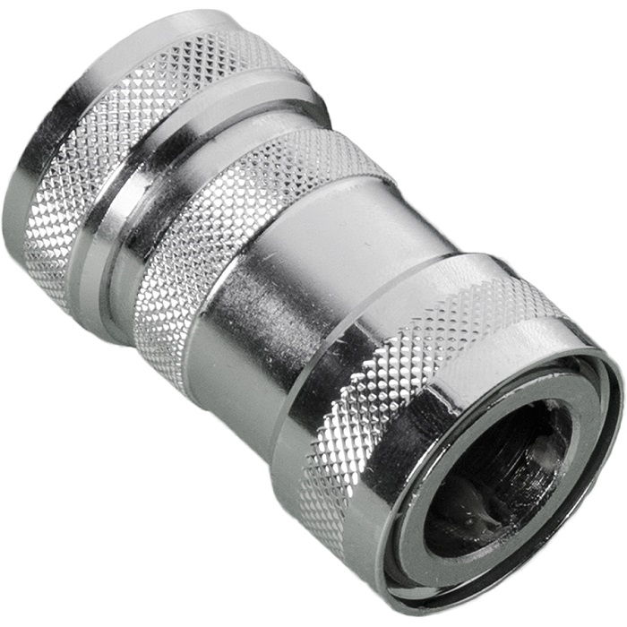Quick Connect Coupling with Shut-Off Valve, Auto., Water-tight