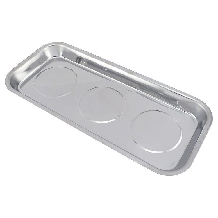 14 in. x 6.25 in. Large Rectangular Magnetic Tray