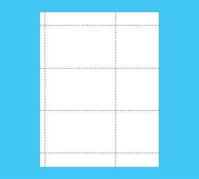 Plastic Card Sheet