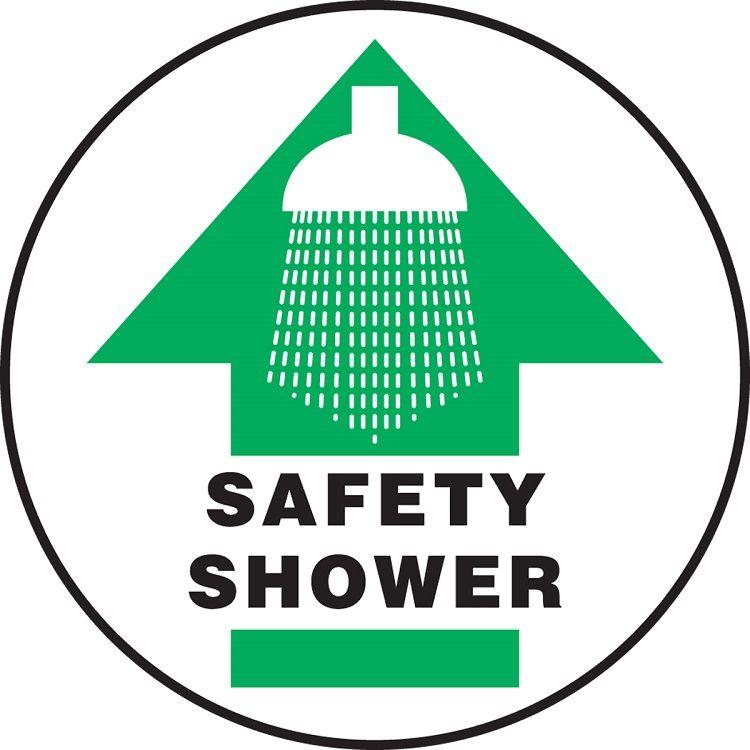 Slip-Gard Safety Shower (Arrow) Floor Sign