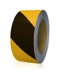 2 in. x 100' Striped Floor-Mark Marking Tape