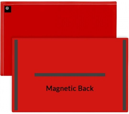 11 in. x 17 in. Magnetic Document Holder with Flap