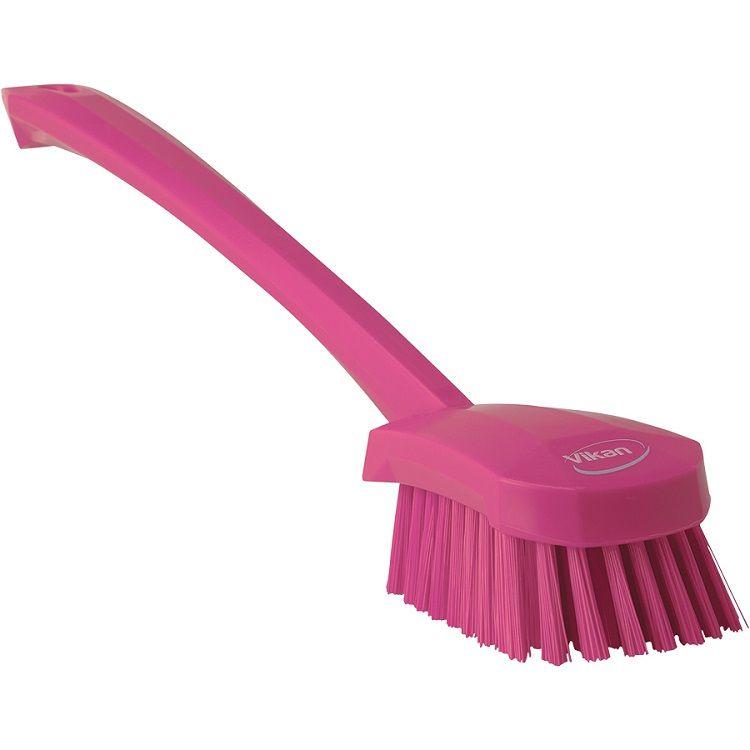 15.75 in. Long Handled Scrubbing Brush Stiff