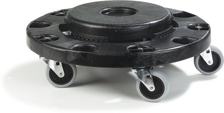 Bronco Standard Round Container Dolly 2 pk 45CBSD