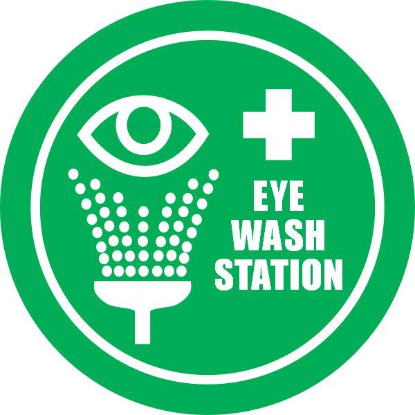 Eye Wash Station Safety Sign